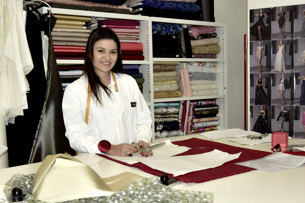 A estilista amazonense Daniela de Souza