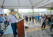 Em São Bernardo, prefeito Orlando Morando entrega revitalização da praça no Jardim Regina
