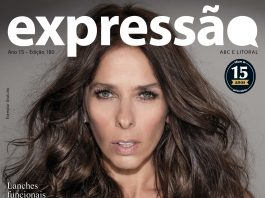 Edição comemorativa de 15 anos de Revista Expressão, na capa Adriane Galisteu