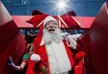 Papai Noel chega ao Natal do Golden Square Shopping
