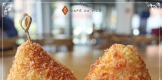 Coxinha no Café da Vila