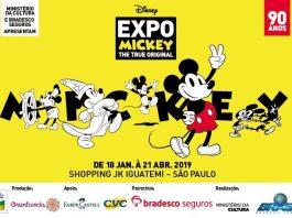 Exposição Mickey 90 anos no JK Iguatemi